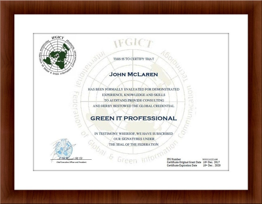 Green It Professional Gitp